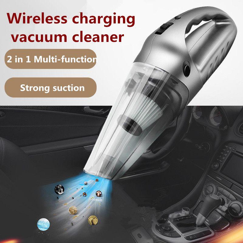 Drahtlose Auto-staubsauger Werkzeug Wet und multifunktions Tragbare Aspirador Druck Pneumatische Beleuchtung 12 V Filter Auto Reiniger