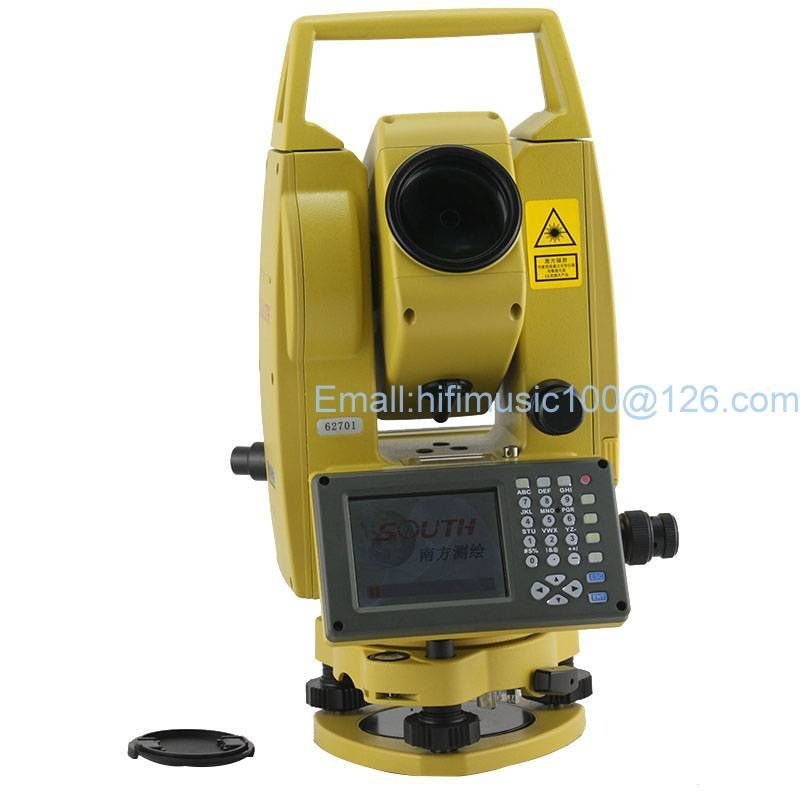 SOUTH NTS-342R Reflectorless TOTAL STATION USD conductivity measurement data graphically