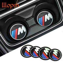 Haute qualite 1 pcs voiture de gel de silice tasse anti-slip mat pad pour bmw 1 3 5 7 Série F30 F35 320li 316i 328X1X3X5X6 accessoires