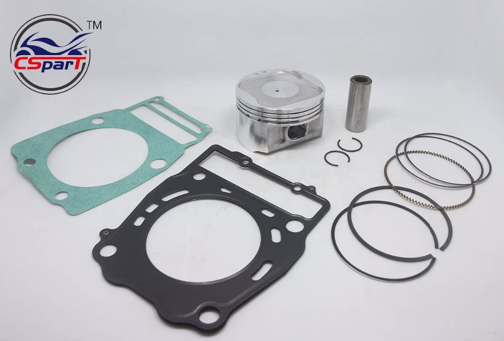 92 MM 23 MM Kolbenring Pin Kit Für XinYang Kazuma Jaguar XinYang 500 500CC ATV UTV Quad Teile