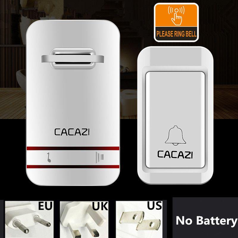 38 Tunes Беспроводной Дверь звонок Беспроводной Пульт Дистанционного Дверной Звонок Перезвон, Нет необходимости батареи, Водонепроницаемый, Е...