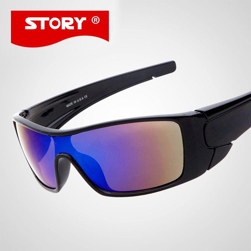 История бренда Дизайн Спортивные очки новые модные уличные за рулем покрытия солнцезащитных очков 10 Цвета Óculos UV400