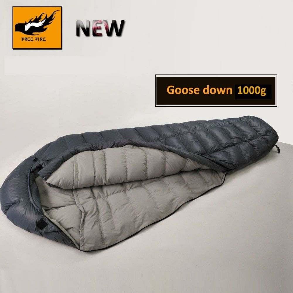 NEW Goose Down Sleeping Bag, Winter Down Sleeping Bag Goose Down, Camping Sleeping Bag Winter Ultralight Goose Down Sleeping Bag