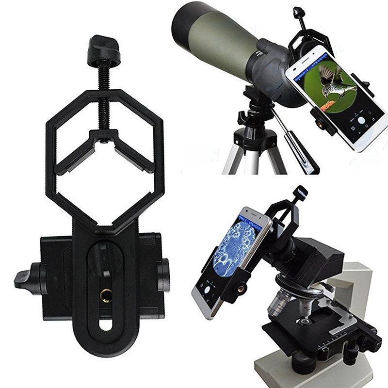 Adaptateur universel pour support de télescope pour iPhone 7 6S support pour téléphone intelligent en alliage