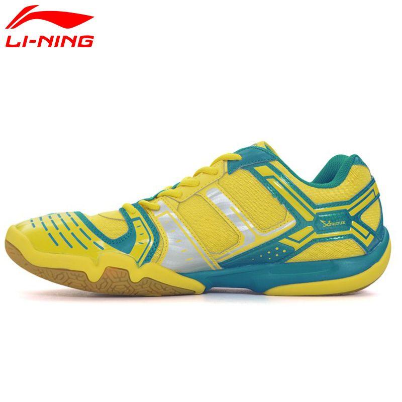 Li Ning Frauen Saga Licht Täglichen Badminton Schuhe Anti Rutschigen Turnschuhe Atmungsaktiv Strapazierfähig Futter Sportschuhe AYTM076 XYY030
