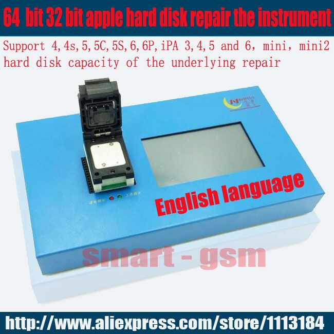 IP Box Navi plus PRO3000S 32 64 bit nand programmer,repair HDD serial number SN,for iPhone 6p 6 iPad mini for ios 11 EMS DHL