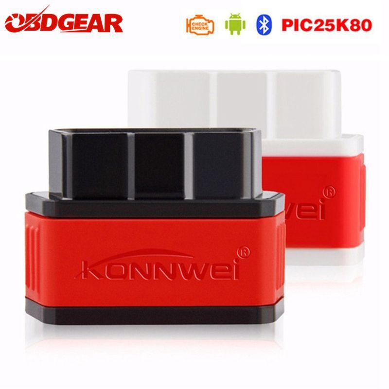 OBD2 Mini ELM327 Scanner Autoscanner ICar2 ELM 327 V1.5 OBD2 adaptateur Bluetooth EML327 outil de Diagnostic de voiture avec puces Pic18f25k80