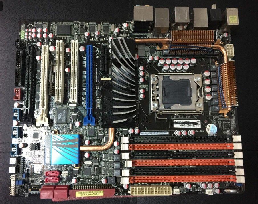 P6T Deluxe V2 Original Desktop Motherboard X58 Socket LGA 1366 DDR3 ATX