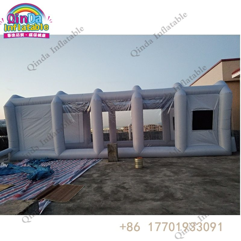 600D oxford+pvc inflatable spray booth,portable spray booth for car paint soundproof booth