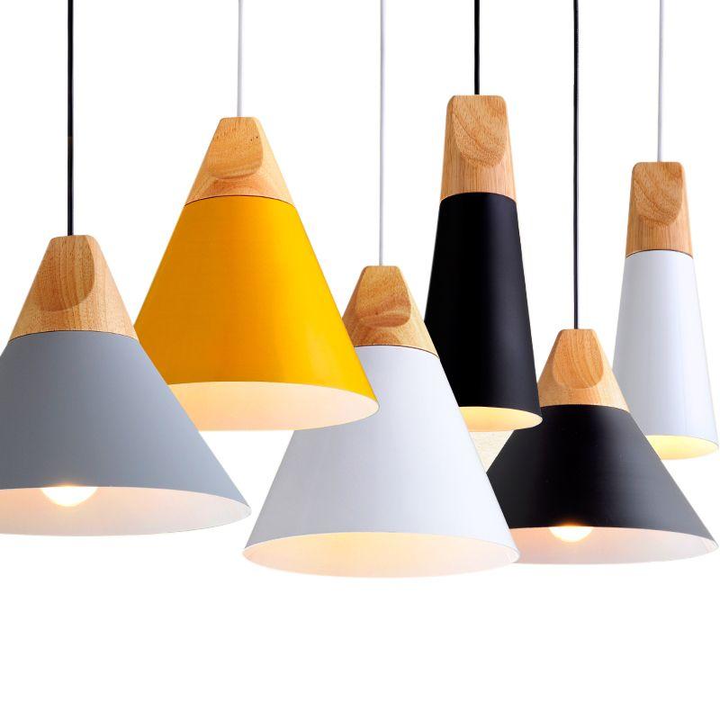 <font><b>Pendant</b></font> Lights Lustres Abajur <font><b>Pendant</b></font> Lamp Luminaire Hanglamp Colorful Aluminum Lamp Shade For Home Lighting Dining Room Lampsha