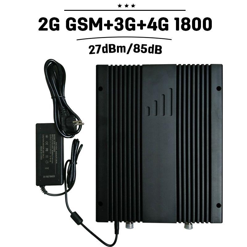 Amplificateur de Signal Mobile 2G 3G 4G GSM 900 WCDMA UMTS 2100 4G LTE 1800 répétidor cellulaire 27dBm puissance 75dB amplificateur de téléphone portable 30