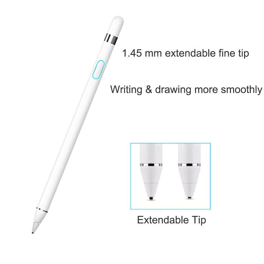 WIWU Tablet Pen für Apple Bleistift Wiederaufladbare Stylus Stift für iPad Pro Kompatibel mit IOS/Android Stylus Stift für samsung Tablet