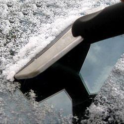 2015 nuevo acero inoxidable nieve pala Rascadores removal Clean Tool auto vehículo moda y hielo útil quitar herramienta