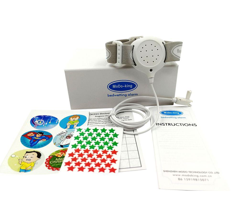 MoDo-king best bedwetting alarm for baby boys kids best adult bed wetting enuresis alarm nocturnal enuresis MA-108-1