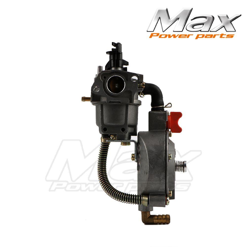 LPG CNG Conversion Kit Carburetor Carb For GX160 GX200 168F 170F 2KW 3KW Water Pump Dual Fuel Generator gasoline 5.5HP