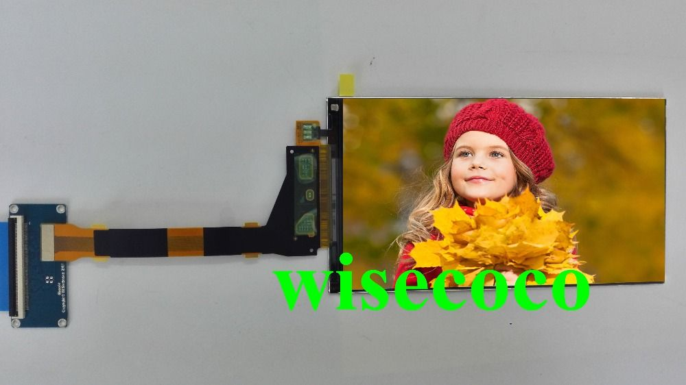 5.5 inch 2560*1440 2K LCD Screen LS055R1SX04 HDMI to MIPI driver controller V1.2 for replacement for Wanhao duplicator 7