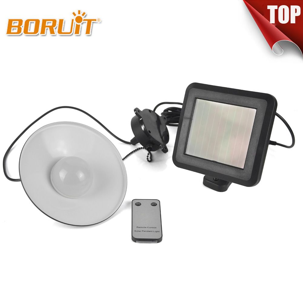 BORUIT Brand Solar Light LED Outdoor Led Solar Powered Body Motion Sensor Solar Lamp Floodlights Living Room light decoration
