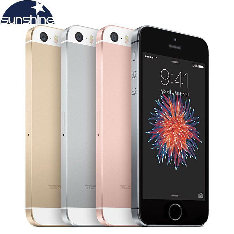 Original Unlocked Apple iPhone SE Phone 4G LTE Mobile Phone Dual Core 4.0