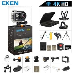 Оригинал екеn H9/H9R экшн Камера 4 K со сверхвысоким разрешением Ultra HD, 1080 p/60fps мини-камера для шлема с Wi-Fi, 2,0