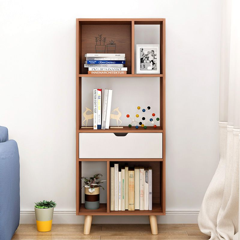LK1679 Nordic Bookcase Floor Bookshelf Modern Minimalist Living Room Storage Rack Office Racks Fashion Side Cabinet For Sale