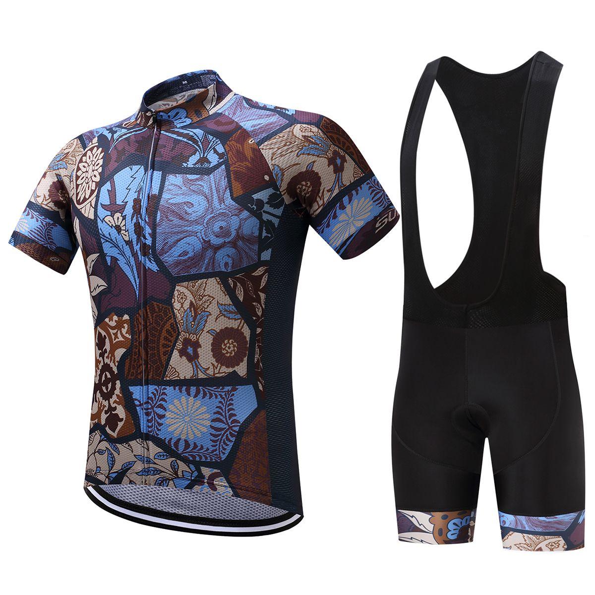 2018 Pro Team herren Radfahren Jersey Set Quick-Dry Maillot Roupa Bike Sets Racing Fahrrad Kleidung Triathlon Anzug MTB Kleidung