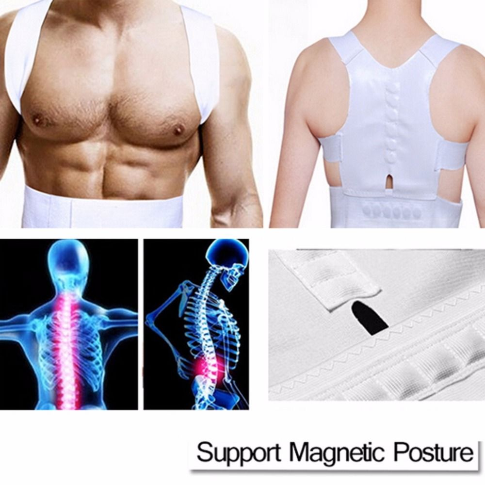 Magnetische Körperhaltung Korrektor Hosenträger & Support Körper Back Pain Gürtel Brace Schulter Für Männer Frauen Care Health Einstellbare Haltung Band