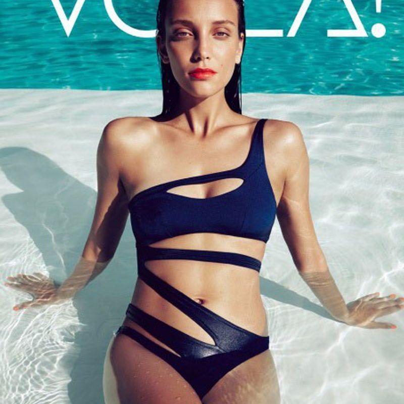 Water Princess Bikini  2017 Solid Bandage Swimsuit Women Push Up Swimwear Sexy Bathing Beachwear Biquini Female