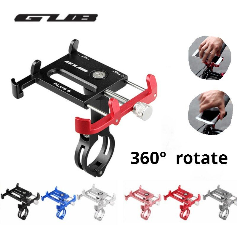 GUB Plus 6 Plus 3 G81 Aluminum MTB Bike Bicycle Phone Holder Motorcycle Support GPS Holder for Bike Handlebar Bike Accessories