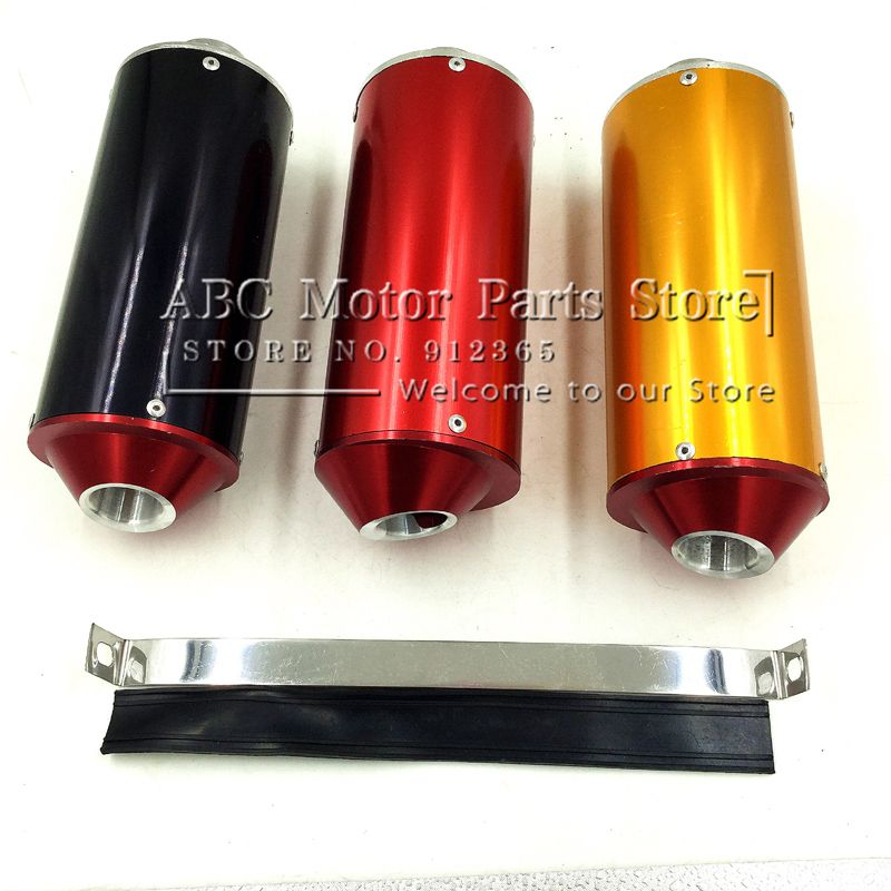 28mm dirt bike pit bike  off-road motorcycle exhaust muffler exhaust end cnc back-end motocross KTM CRF KLX