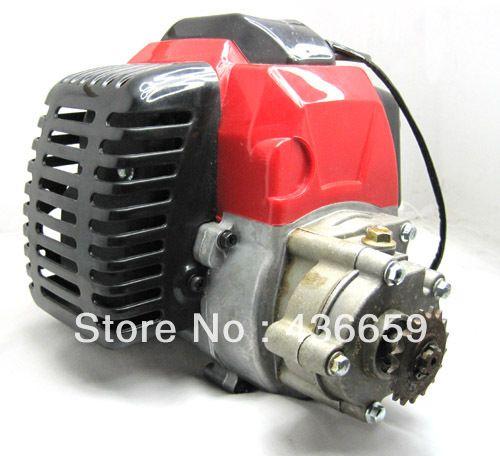 49 49CC COMPLETE ENGINE 2 STROKE SUPER POCKET BIKE ATV