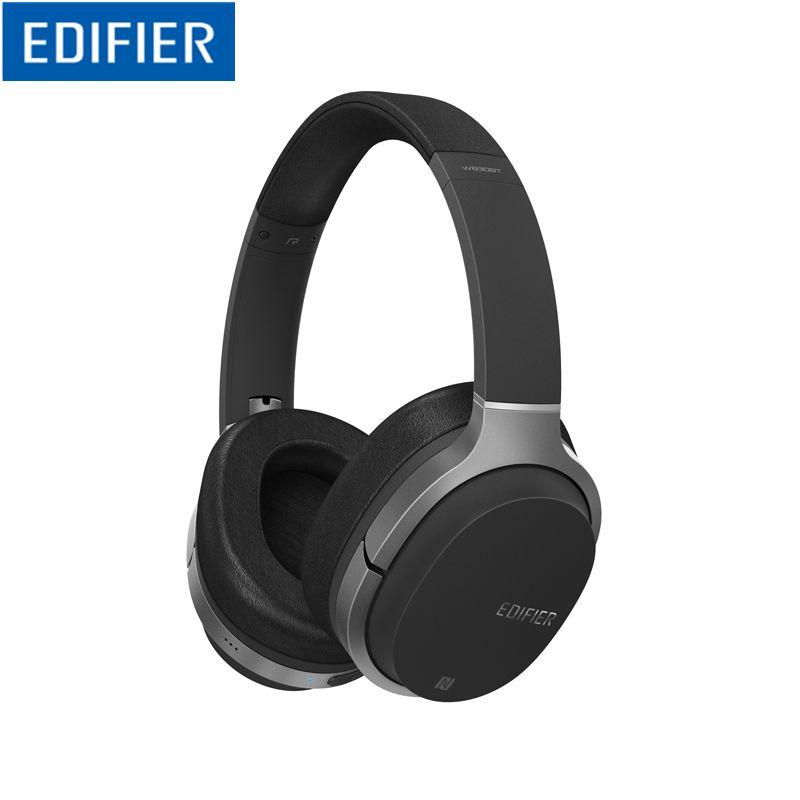 Edifier W830BT Bluetooth Kopfhörer, Über-Ohr Drahtlose Kopfhörer, stereo Hallo-fi Headset mit Mikrofon und Fernbedienung für Handys, PC, Tisch