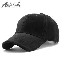 [Aetrends] 2018 новый бренд 100% хлопок Бейсбол Кепки Для мужчин Спорт Шапки Мужские Поло шляпа z-3023