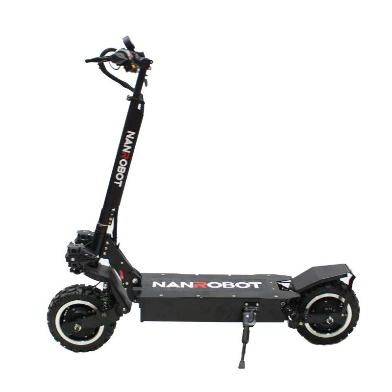 NANROBOT RS2 Erwachsene Elektrische Roller 11''60V 23.4AH 2400 W Tragbare Falten Abnehmbare Sitz 40 MPH 55 Meilen Reichweite 2 Rad kick