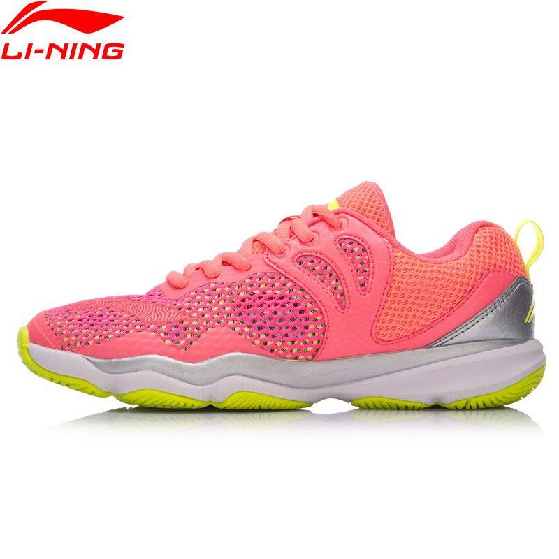 Li-Ning Frauen RANGER II LITE-Täglichen Professionelle Badminton Schuhe Wearable Anti-Slipp Futter Sport Schuhe Turnschuhe AYTN034 XYY070