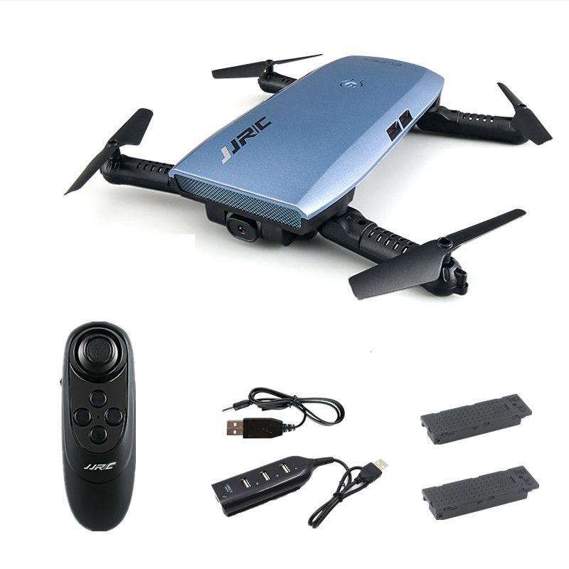 JJRC H47 ELFIE Plus Mini Selfie Drone with Camera HD 720P WIFI FPV Gravity Sensor Altitude Hold Foldable Quadcopter VS H49WH