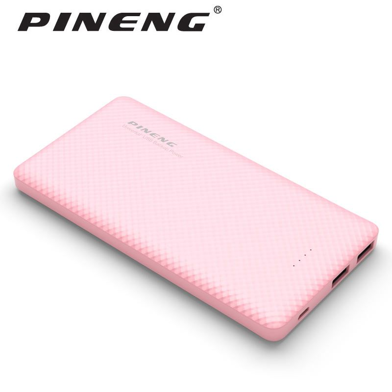 Original Pineng 10000mAh Power Bank PN-958 Portable Shake <font><b>Start</b></font> External Battery Li-Polymer Dual USB For Xiaomi Samsung Phone8