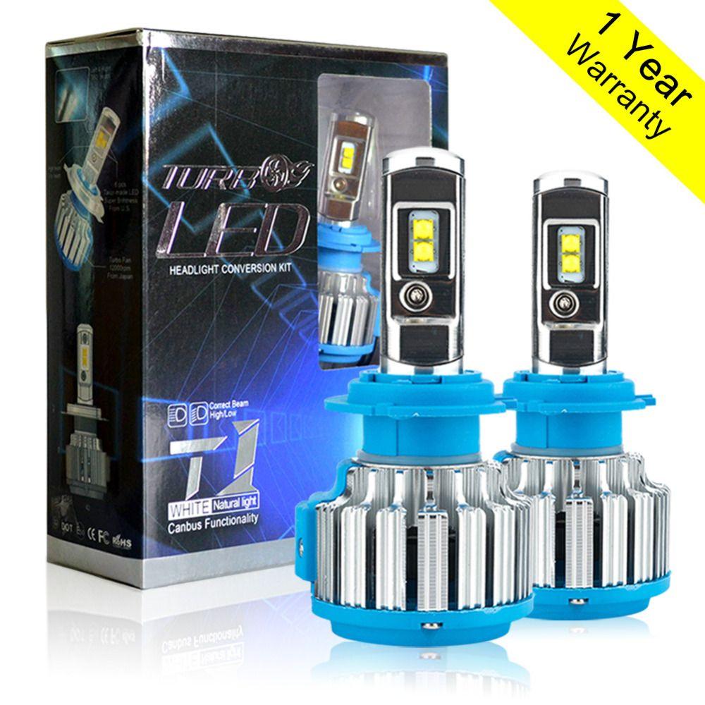 H7 LED H4 H1 H3 H11 9005 9006 HB4 70W 7000lm Car <font><b>Headlights</b></font> Front Fog Light Bulb Automobiles Headlamp 6000K Car Lighting