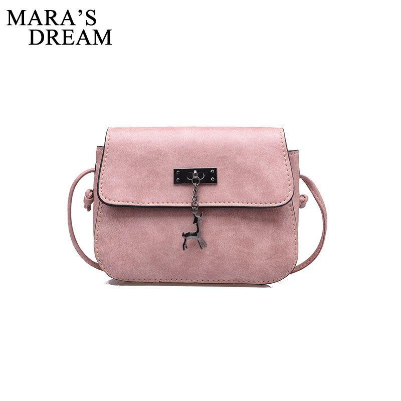 Mara Traum Shell Frauen Messenger Bags Hohe Qualität Umhängetasche Pu-leder Mini Weiblichen Umhängetasche Handtaschen Bolsas Feminina