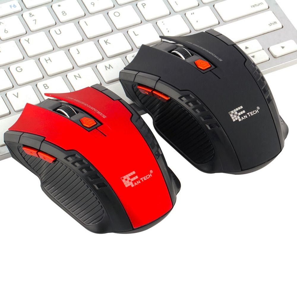 Auf lager! 2,4 Ghz Mini tragbare Wireless Optical Gaming Mäusemäuse Für PC Laptop Neue Heiße Weltweit dropshipping