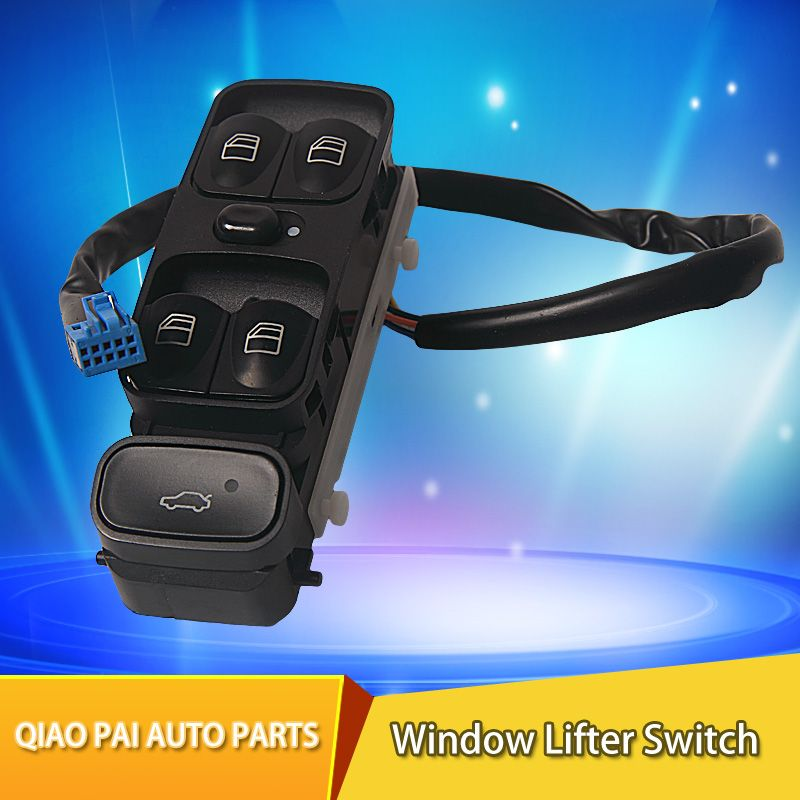 Car Electric Power Window Master Control Switch Window Lifter Switch 2038200110 2038210679 203 820 0110 For MERCEDES W203 C200