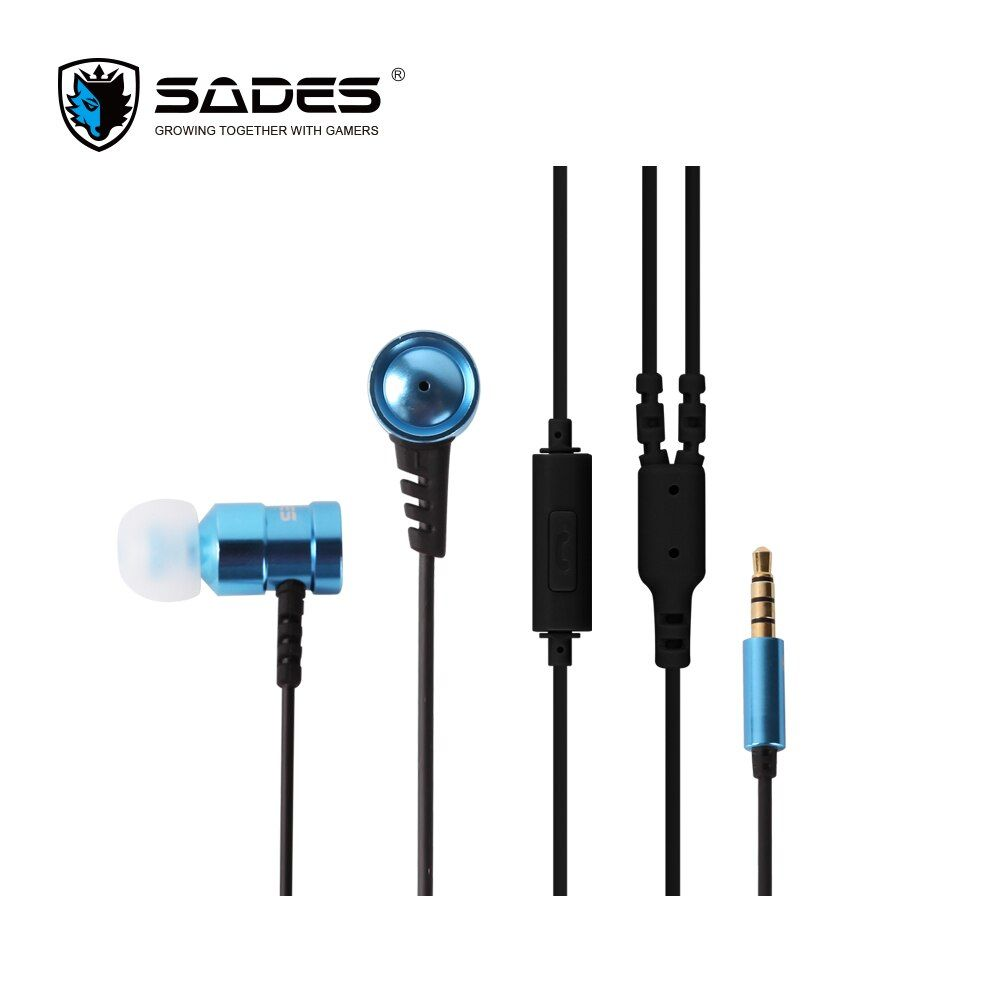 SADES Ailes 3.5mm Gaming Headset appel Téléphonique Musique Écouteurs Portable Écouteur Pour PC/XBOX ONE/PS4