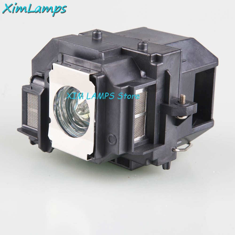 ELPLP58 Projector Lamp with Housing For Epson EB-S9 EB-S92 EB-W10 EB-X10 EB-X92 PowerLite 1220 PowerLite 1260 EB-S10 EX7200