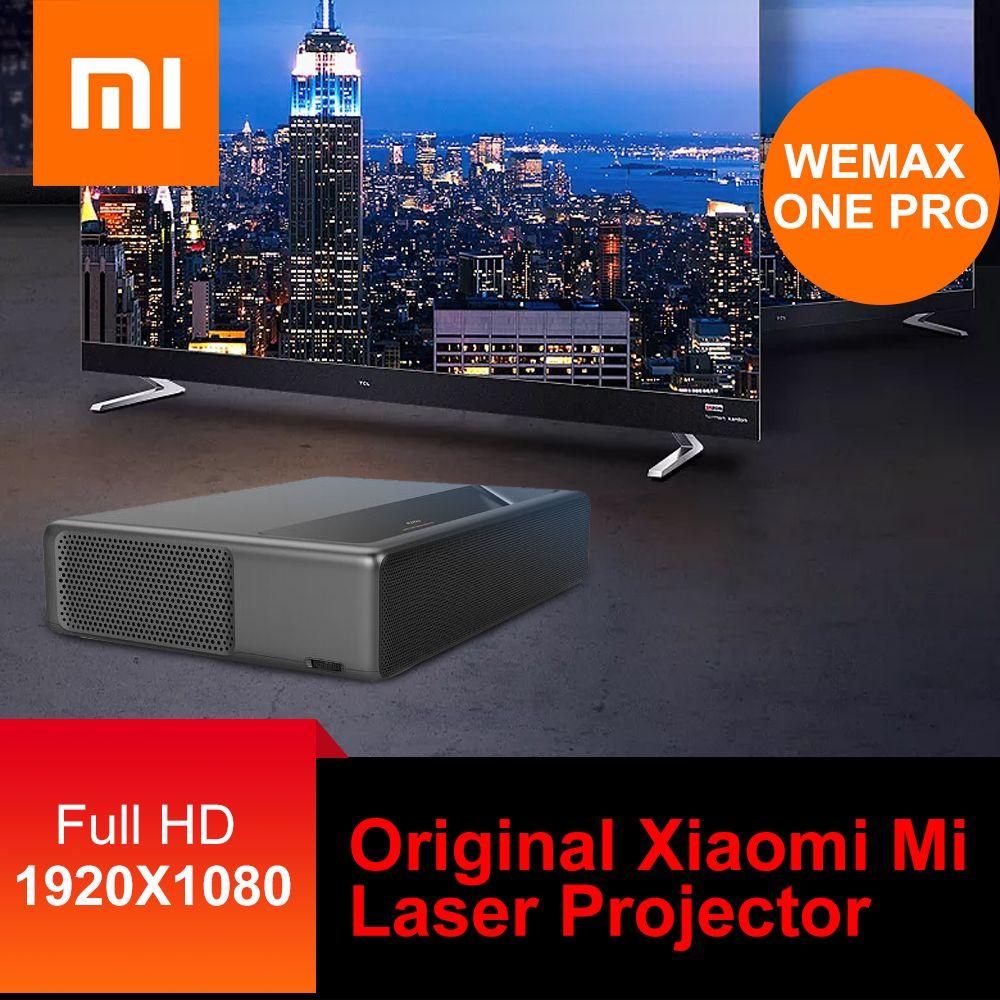 Original Xiao mi mi Laser Projektor WEMAX EINE ALPD Laser Projektor Heimkino 5000 Lumen 150 Zoll Full HD Stimme control