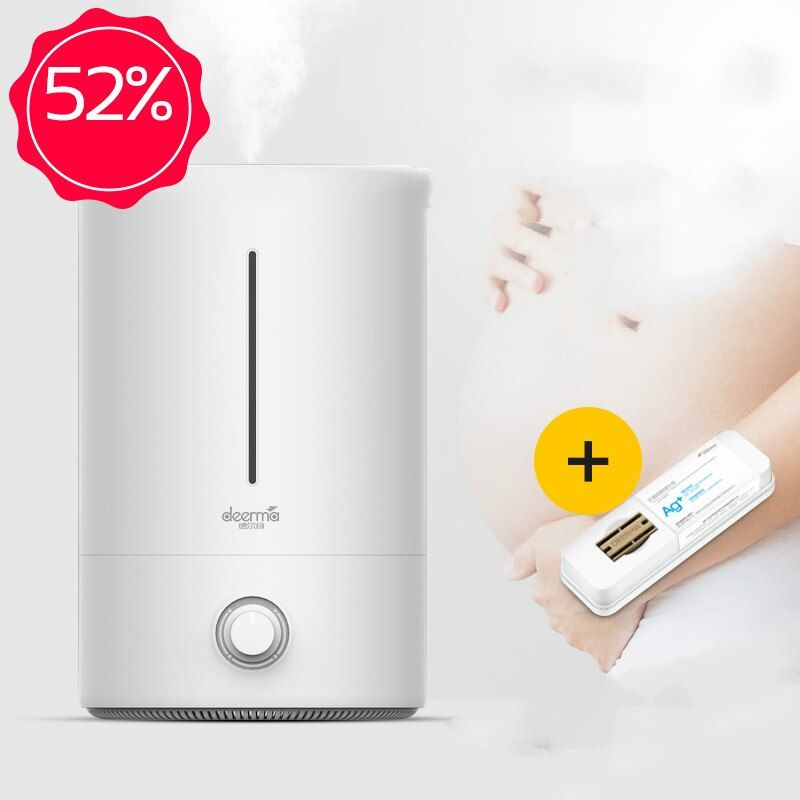 DEERMA 5L Große Kapazität Strahlung-freies Antibakterielle Luftbefeuchter Für Home Office 350 ml/h Große Nebel Diffusor Nebel Maker