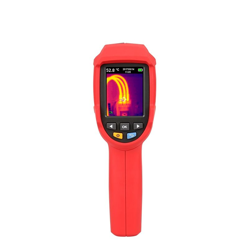 UNI T UTi80 Thermal Imaging Camera Infrared Thermometer Imager -30C to 400C Degree 4800 pixels High Resolution Color Screen