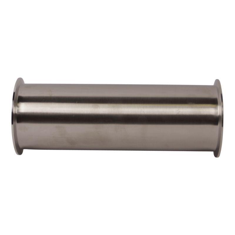 Livraison gratuite 4 ''(102mm) bobine de serrage sanitaire en acier inoxydable, longueur 12''