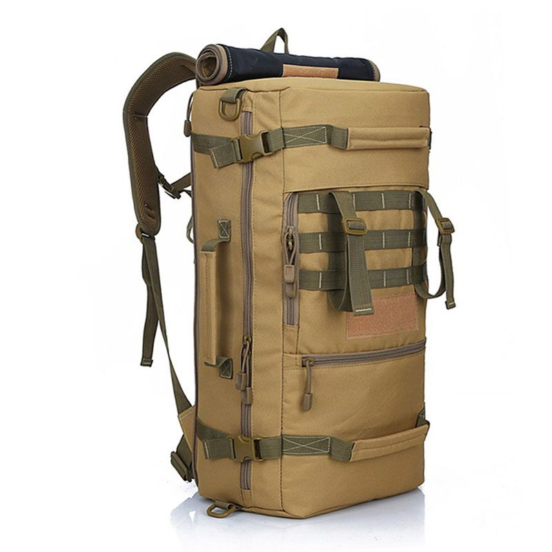 LOCAL LION 50L Military Tactical Backpack Hiking <font><b>Camping</b></font> Daypack Shoulder Bag Men's hiking Rucksack back pack mochila feminina