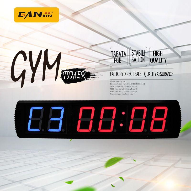 [Ganxin] FREIES VERSCHIFFEN 4 zoll GYM crossfit timer, ausbildung zeit und ruhezeit abwechselnd