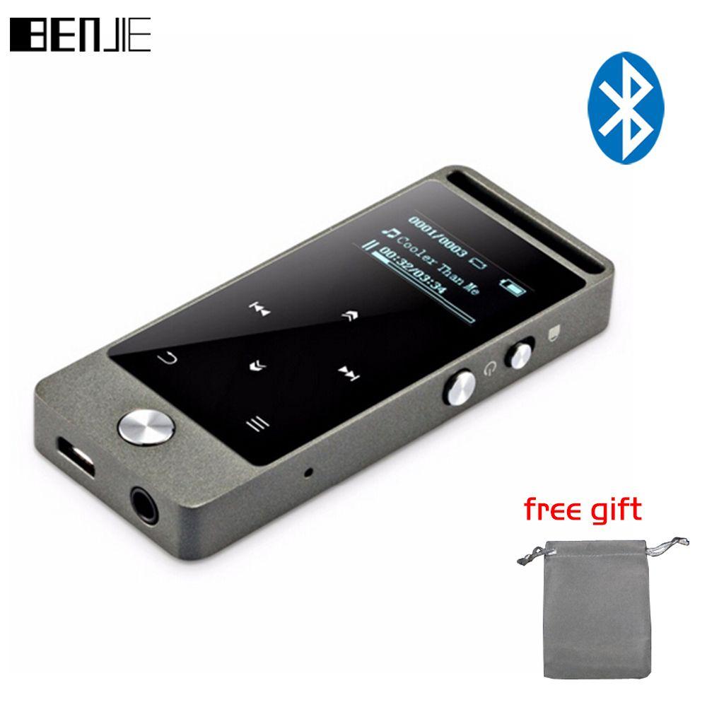Bluetooth Mp3 Player Touchscreen BENJIE S5B Sport Musik Player Qualität einstiegs Verlustfreie MP3 Musik-player Recorder