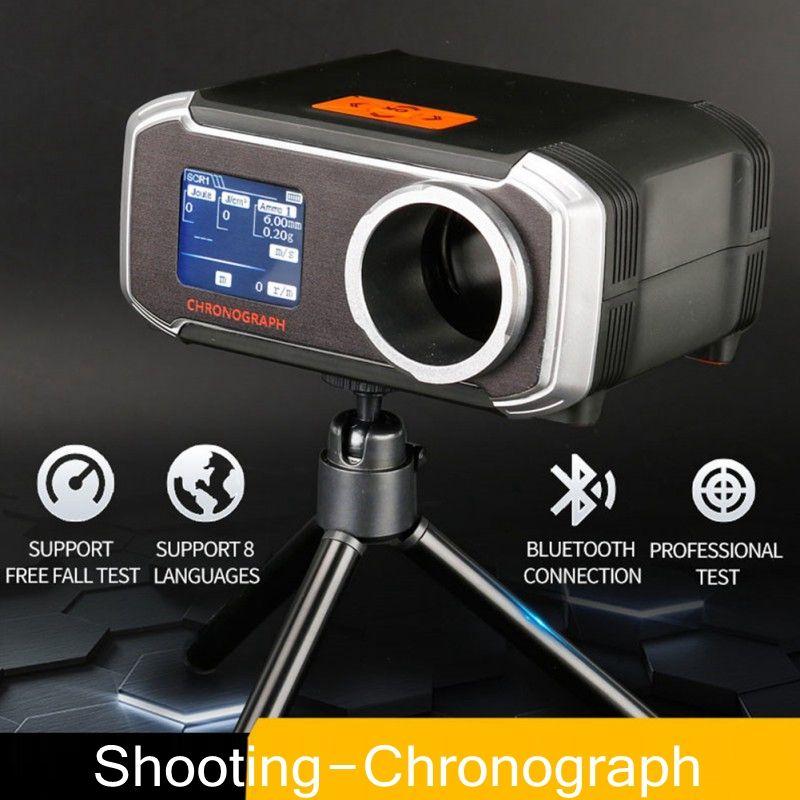 Außen Tactical Airsoft Speed Tester Schießen Chronograph Speed Tester Jagd Zubehör für Bluetooth Android und ISO System